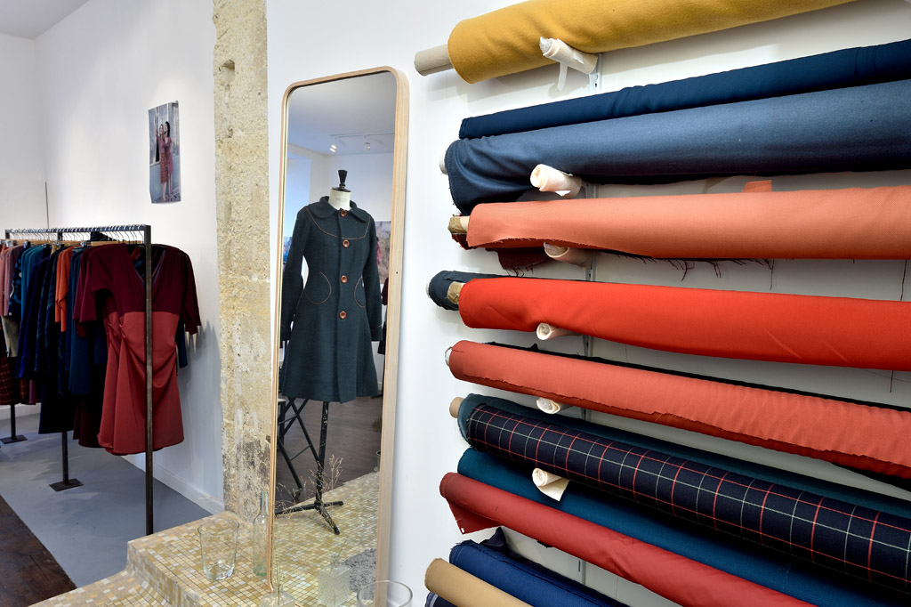 la bâloise boutique atelier intérieur tissus anne c. wirth